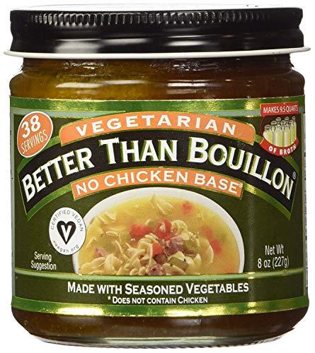 Betterthan Bouillon Vegetarian, Non Chicken Base, 8 Ounce - 6 per case.