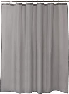 Amazoncom Grey Shower Curtain Liners Shower Curtains Hooks