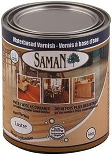 SamaN 160-091-472ml 1-Pint Interior Waterbased Gloss Varnish