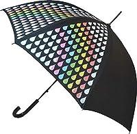 Automatisches Öffnen Superstarke Glasfaserrippen Schwarzer Polyester Farbwechselnder