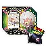 Lively Moments Pokémon Tin Box SWSH 4.5 Brillante Schicksal Cottomi V DE y tarjeta de felicitación gratis