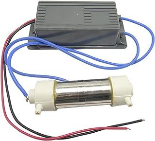 ICECON Generador de ozono Accesorios, 1000mg / h AC110v-220V, fácil de Instalar, el ozono Comercial purificador de Aire Accesorios para Aire Acondicionado, Lavavajillas Desinfección/Purificación