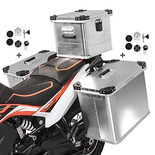 Maletas Laterales 34-34L Baul 36L para Yamaha MT-07 / Tracer 700