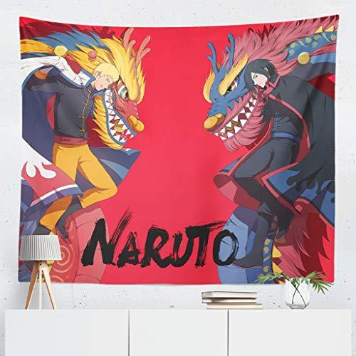 Tapiz anime Naruto, Pintura de la Pared de impresión Digital, Cartel de Fondo de animación, Anime Tapices de Pared Sábana de Picnic Decoración de la Pared Manta Arte de la