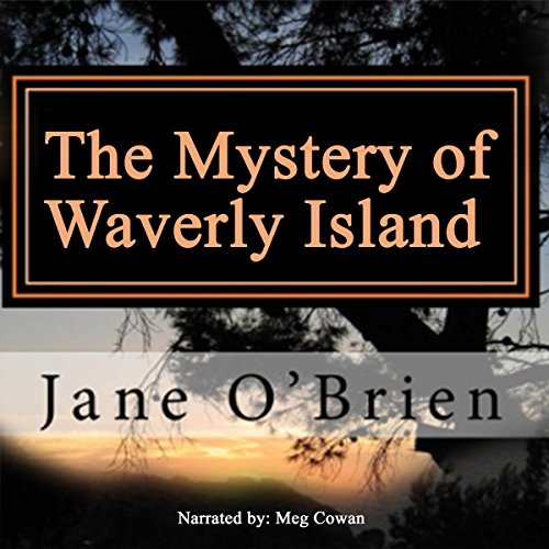 The Mystery of Waverly Island audiobook cover art