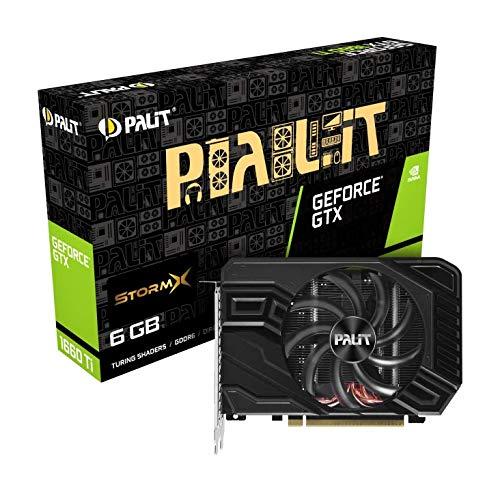 Palit NE6166T018J9-161F scheda video GeForce GTX 1660 Ti 6 GB GDDR6