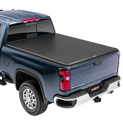 "TruXedo TruXport Soft Roll Up Truck Bed Tonneau Cover | 273301 | fits 2019-20 GMC Sierra & Chevrolet Silverado New Body Style 2500HD & 3500HD 6'7"" bed"