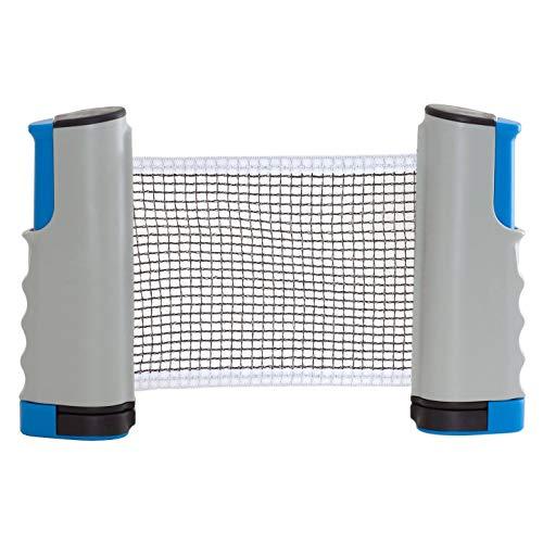 iheyfill Tischtennisnetze,Einziehbares Tisch Tennis Netz Ping Pong net, Tischtennis Netze - Einstellbare Länge 175 (max) x 14,5cm