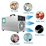 ZFAZF Desinfectante de Aire Comercial, Generador de Ozono Casero Purificador de Aire con Temporizador para Interior, Hogar y Barco (3000 MG/H)