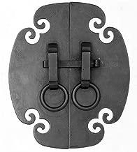 tornillos incluidos La barra de la manija del dor Asas Paquete de 4 piezas de manijas Ca/ída de manijas Tiradores Estilo chino tradicional Lat/ón Perfecto for muebles de madera Gabinete Puerta de caj/ón