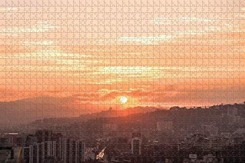 Venezuela Caracas Rompecabezas para Adultos 1000 Piezas Rompecabezas de Madera para Adultos