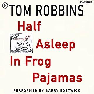 Half Asleep in Frog Pajamas audiobook cover art