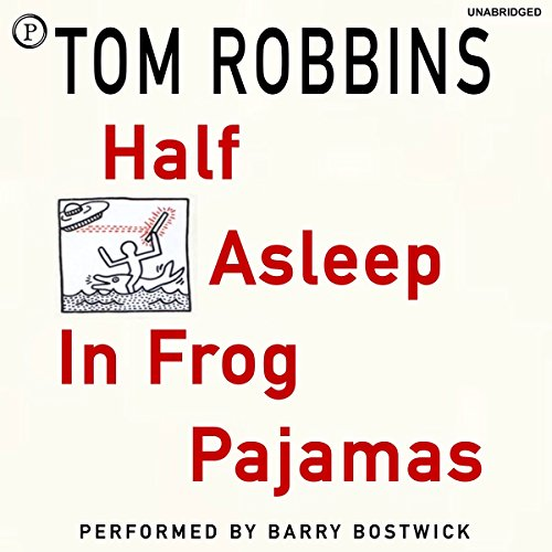 Half Asleep in Frog Pajamas audiobook cover art