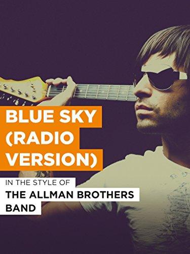 Blue Sky (Radio Version) im Stil von