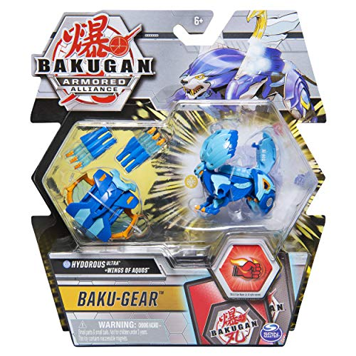 Bakugan Ultra with Transforming Baku-Gear, Armored Alliance 3-inch Tall Collectible Action Figure (Styles Vary)
