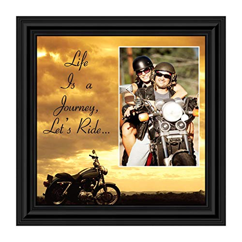 Classic Harley Picture Frame, Harley Davidson Gifts for Men, Harley Davidson Gifts for Women, Harley Davidson Wedding Gifts, Biker Motorcycle Accessories for Men, Unique Motorcycle Wall Decor, 9750B
