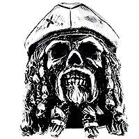 (A) 指輪 リング 海賊キャプテンスカルステンレスリング(STR035)サイズ/30号 メンズ パイレーツ 骸骨 ドクロ 親指 大きいサイズ 関節 アクセサリー