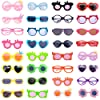 ZWSISU 10 Pairs of Doll Glasses Accessories fit 18 inch American Girl Doll&43cm Baby Born Doll Include 10 Diferent Colors Doll Glasses,My Life Dolls #1