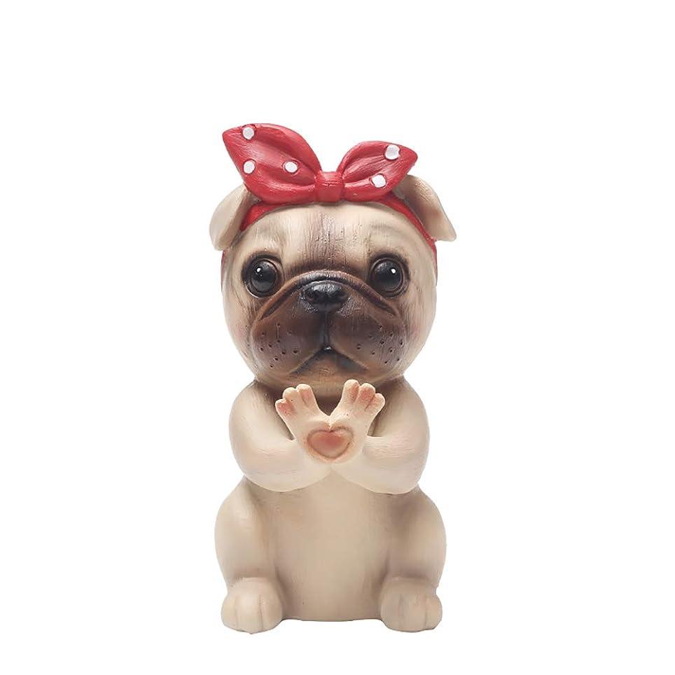 動かない大胆翻訳メガネスタンド、かわいい犬動物樹脂眼鏡ホルダー棚サングラスディスプレイ