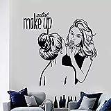 Vinilo Pared Artista de maquillaje Pegatinas de pared Cosmé