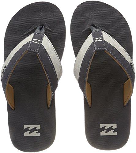 G.S.M. Europe - Billabong Herren All Day Impact Aqua Schuhe, Grau Charcoal 18, 39 EU