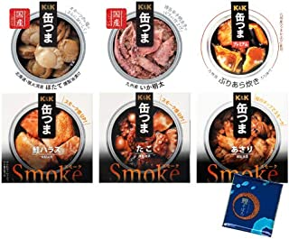 缶つま 惣菜 缶詰 魚介 6種類 詰め合わせ 小袋鰹ふりかけ1袋 セット