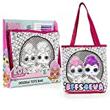 L.O.L. Surprise! Bolsa Infantil para Colorear con Muñecas LOL, Incluye Rotuladores de Colores, Kit D...