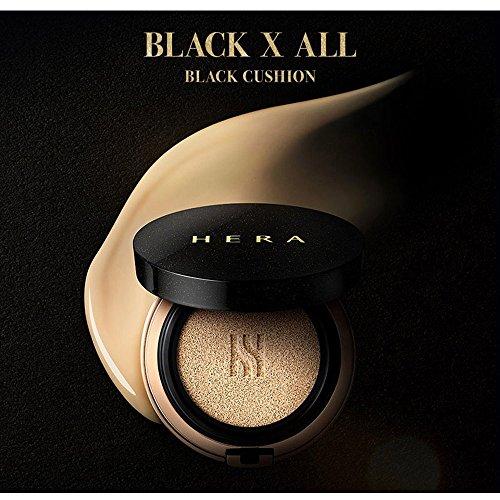 HERA BLACK CUSHION 15g with Refill 15g / Junjihyun cushion 21 Neutral Vanilla