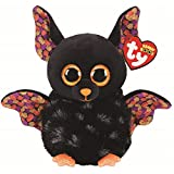TY UK Ltd Radar Bat Halloween 2020 Peluche, Multicolor, 15 cm (36237)