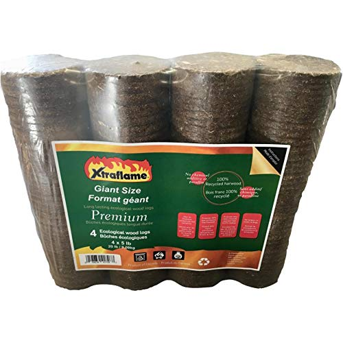 Learn More About 4 Pack 5lb Premium Fireplace Logs