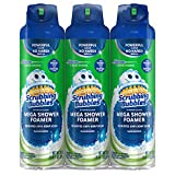 Includes 3 (three) 20 oz. shower cleaners The wide spray has more complete coverage; Removes calcium, lime, dirt and grime Ideal for tubs, shower walls, vinyl shower curtains and shower doors; Leaves a brilliant shine Goes to work on contact, quickly...