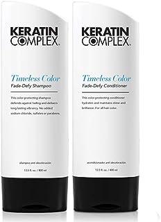Keratin Complex Timeless Color Fade-Defy Shampoo 13.5 oz and Conditioner 13.5 oz Duo