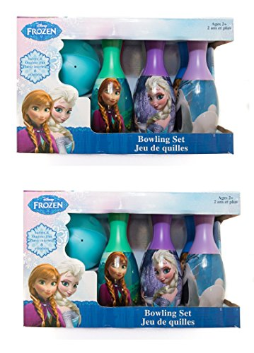 What Kids Want! Frozen Bowling Set__2pack__ by What Kids Want
