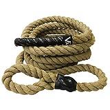 Valor Fitness CLR-25 Sisal Climbing Rope for Cross...