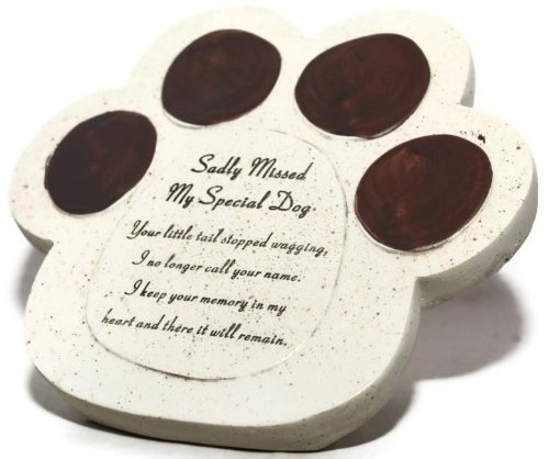 David Fischhoff My Special Dog Paw Pet Graveside Ornament