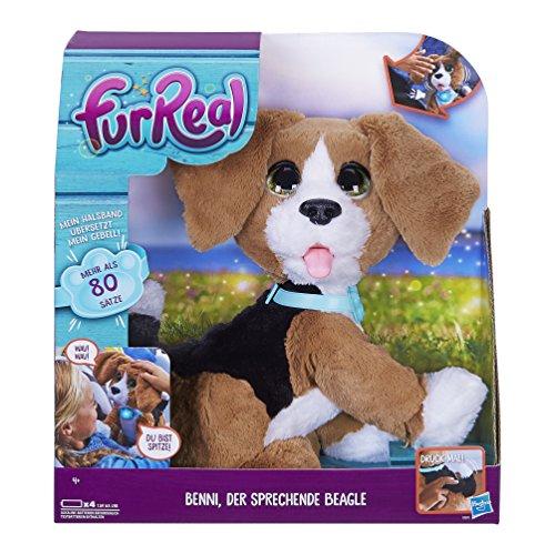 Hasbro FurReal Friends B9070100 - Benni der sprechende Beagle, Elektronisches Haustier