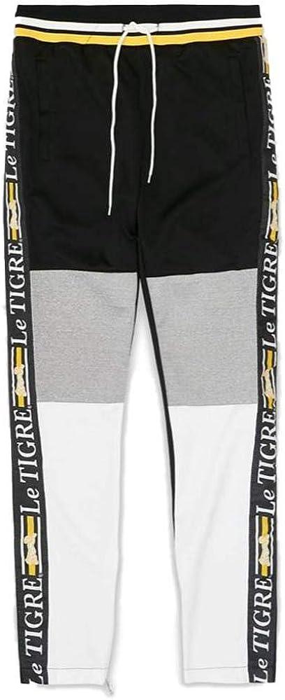 Special At the price Campaign Le Tigre New Tri Color Pants Track Black