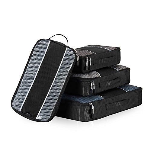 Veevan Cubi di Imballaggio Organizer da Viaggio - Set di 4