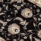 Alfombras Blandas alfombras Estar Alfombra Antideslizante del Pasillo de la Alfombra del Pasillo Europeo Alfombra de la Entrada del pórtico Soft Touch Shaggy (Size : 120cm*1000cm)
