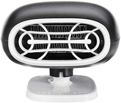 NAYY 12V Auto-Heizlüfter, Heizlüfter Tragbarer Heizlüfter & Kühler, Defroster Demister Warm 2in1 Auto Auto-Zigarettenanzünder-Heater-Lüfter