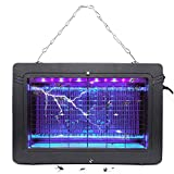 Bug Zapper Electronic Mosquito Killer with 1000V High Voltage Insect Killer for Fly Zapper Moth, Wasp, Beetle & Other Pests Killer in