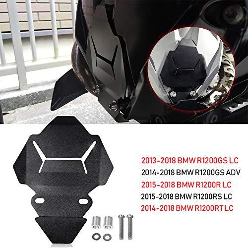 (Noir) Plaque de Protection de Couvercle de boîtier de Moteur en Aluminium de Moto pour B-M-W R1200GS R1200RT R1200R R1200 GS LC ADV Adventure 2013 2014 2015 2016 2016 2017 2018
