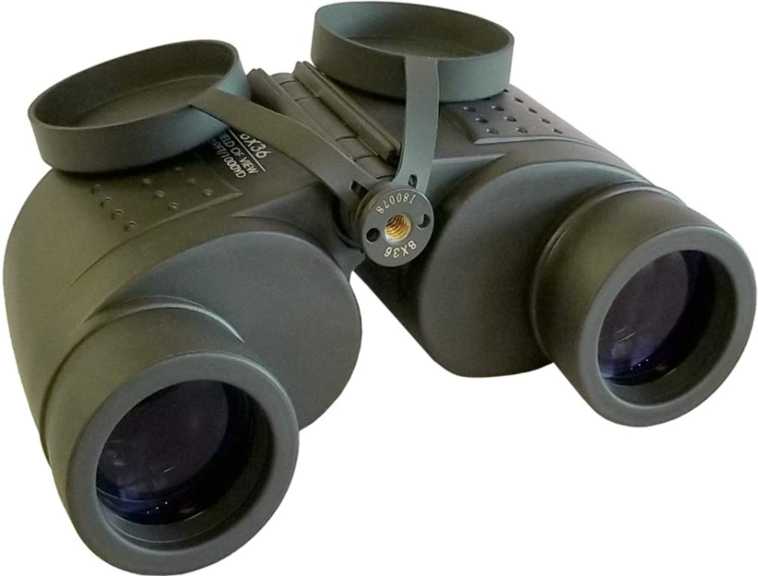PRG Defense 4407XX50PRGMSB Model 7x50B Daytime Binoculars, 7X Magnification, 50mm Objective Lens Diameter, 7.5° FOV, 7.1mm Exit Pupil, 23mm Eye Relief, ≤ 4.5
