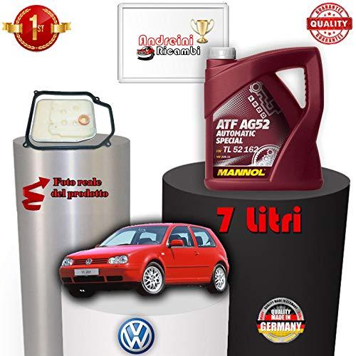 Automatische luchtfilter en oliefilter Golf IV 1.6 75 KW vanaf 2003 -> 2005 1003