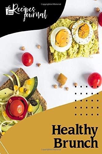 Healthy Brunch: Organic food, Meal Planner notebook, healthy...
