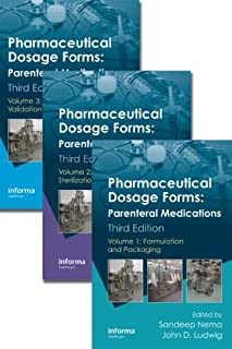 Pharmaceutical Dosage Forms: Parenteral Medications, Third Edition. 3 Volume Set