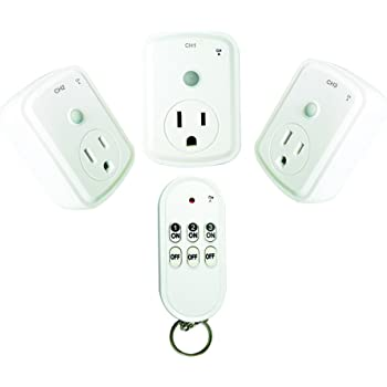 HousePlus Wireless Remote Control Outlet, Light Remote Control Wireless, Outlet Remote Control Indoor
