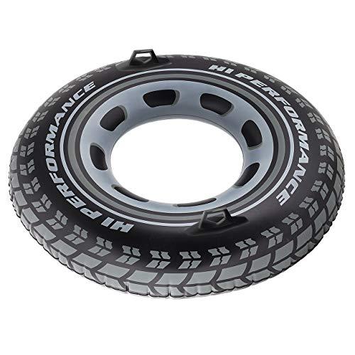 Neumáticos flotantes.