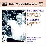 ベートーヴェン:交響曲第3番「英雄」/シベリウス:交響曲第7番(ティントナー・メモリアル・エディション 6)