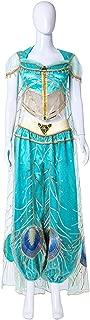 アラジン プリンセス 風 ジャスミン コスプレ衣装仮装 アラビアン 王女 ステージ 舞台服 ハロウィン クリスマス (子供150)